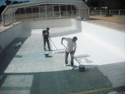 Waterproofing with Quicseal 104S and Quicseal 144