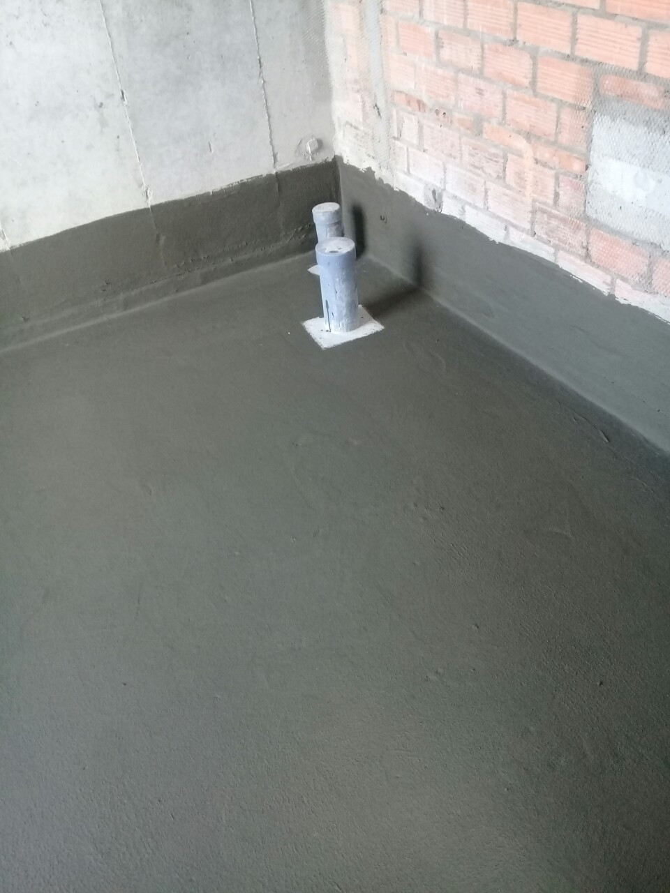 Waterproofing materials for efficient toilets