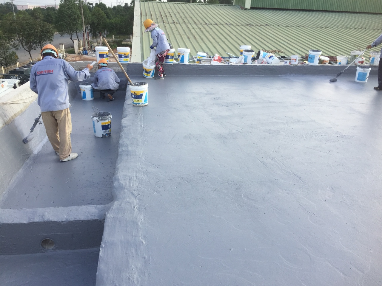 Roof Waterproofing by Quicseal 124